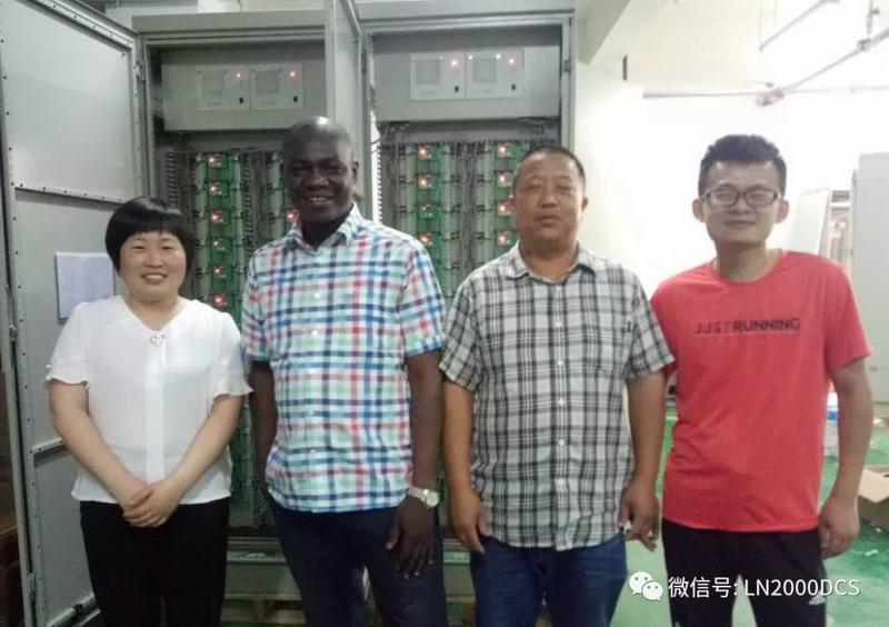 海外友人到访鲁能控制公司参观、交流