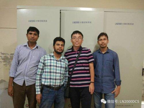 鲁能控制公司受邀赴孟加拉吉大港化学工业公司参观、交流